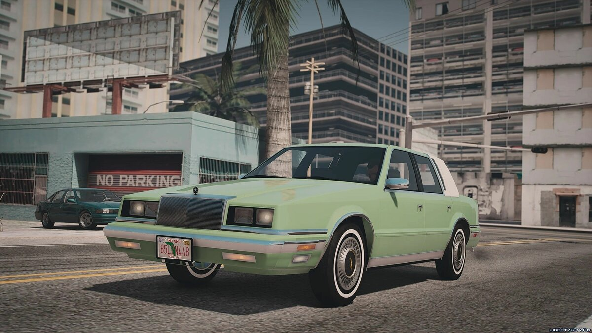 Машина Chrysler 1988 Chrysler New Yorker [Add-On | LODs] 1.0 для GTA 5