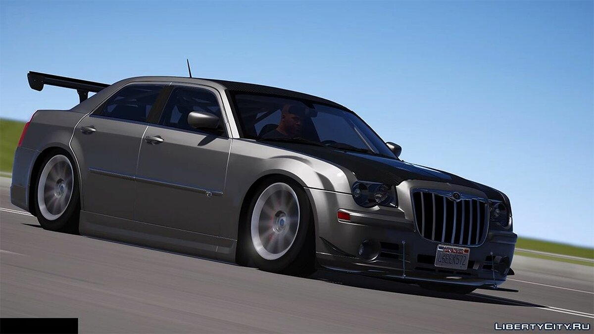 Машина Chrysler 2008 Chrysler 300c SRT8 [ Tuning / Livery / Add-on / DUB / Template ] version 1.1 для GTA 5