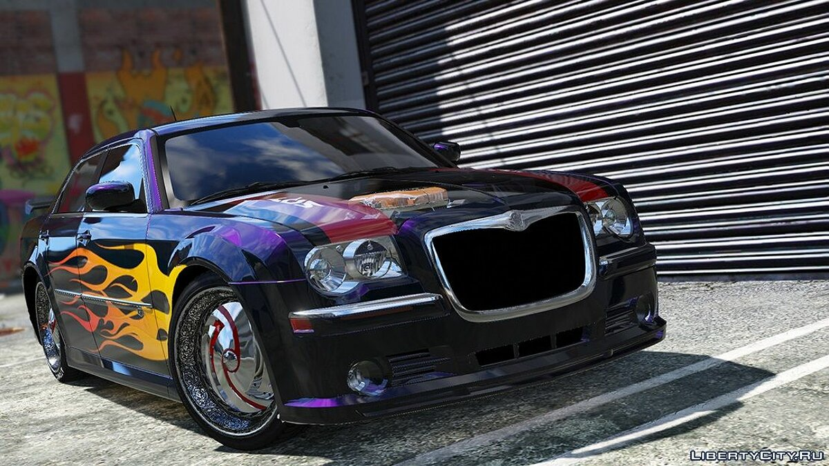 2008 Chrysler 300c SRT8 [ Tuning / Livery / Add-on / DUB / Template ] version 1.1 для GTA 5 - скриншот #6