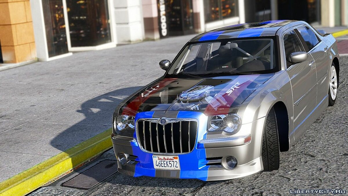 2008 Chrysler 300c SRT8 [ Tuning / Livery / Add-on / DUB / Template ] version 1.1 для GTA 5 - скриншот #7