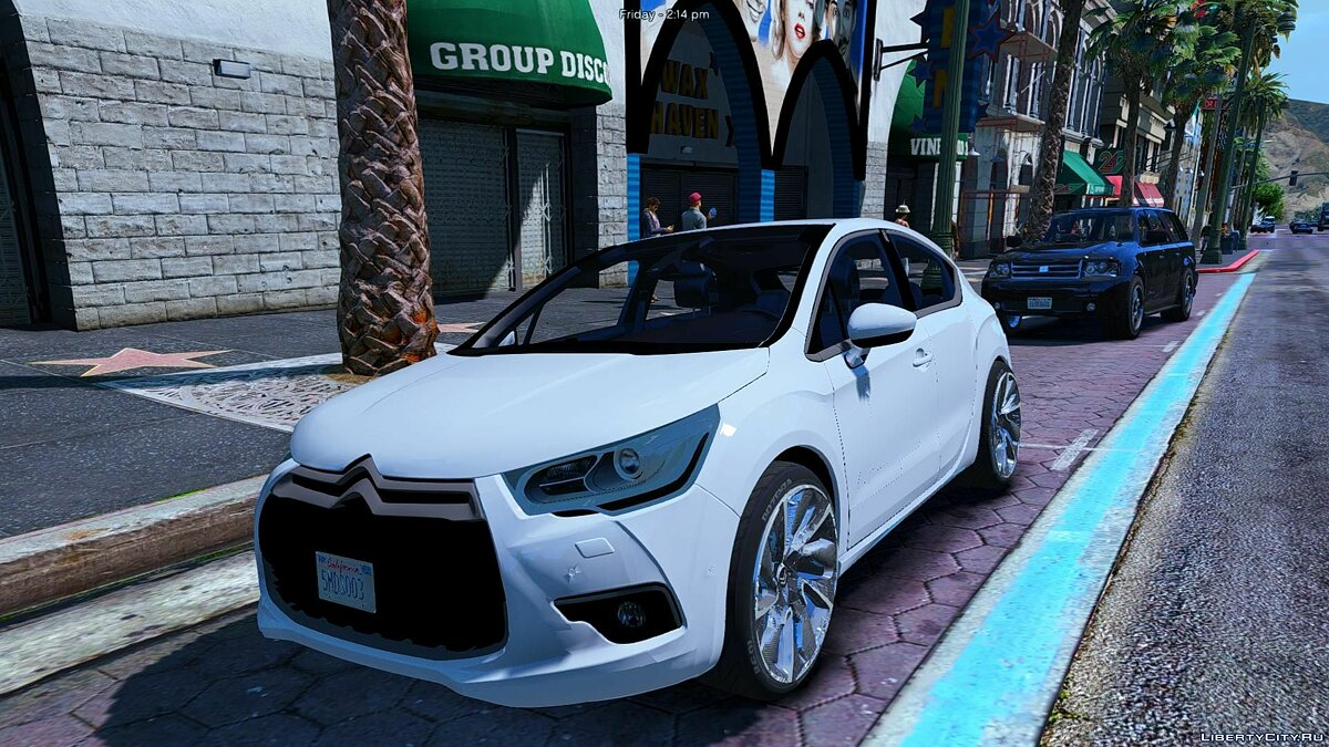 Citroën DS4 (3 Doors) [Add-On / Replace] 1.0 для GTA 5