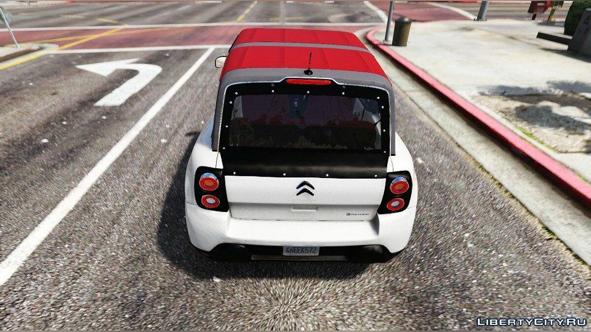 Машина Citroën Citroën E-Mehari 2017 (Add-on) 1.0 для GTA 5