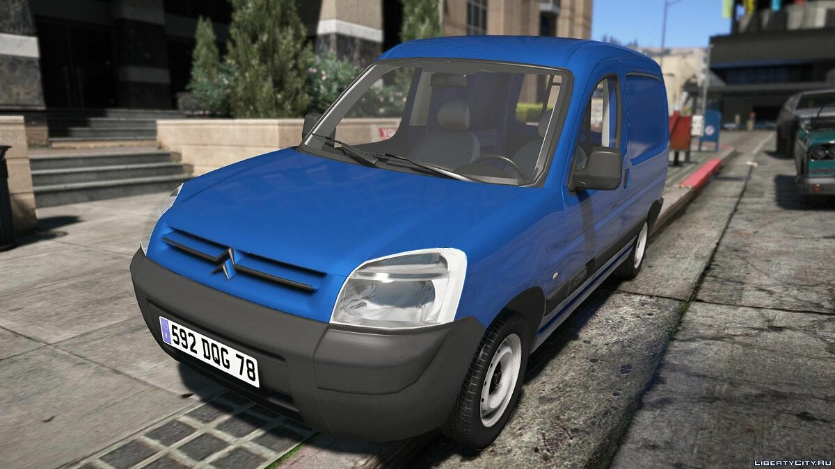 Машина Citroën Citroen Berlingo [REPLACE | EXTRAS | ADD-ON] 1.2 для GTA 5