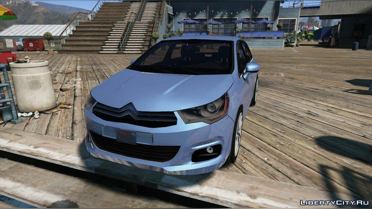 Citroën C4 (Add-on/Replace) 1.0 для GTA 5
