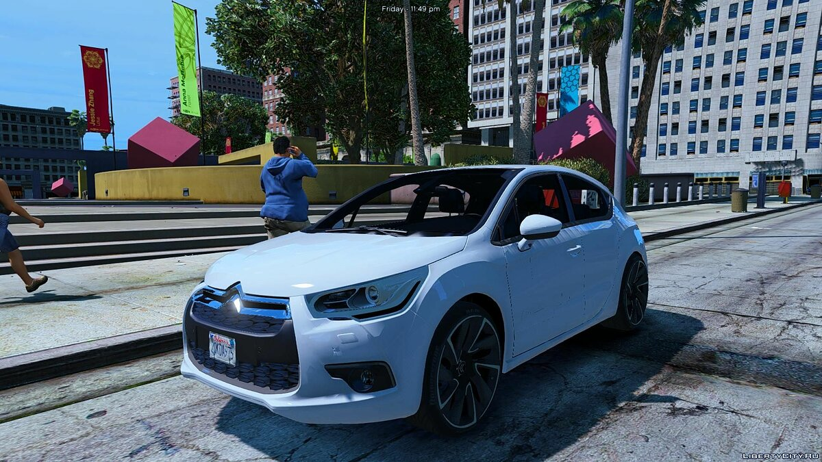 Citroën DS4 (3 Doors) [Add-On / Replace] 1.2 для GTA 5