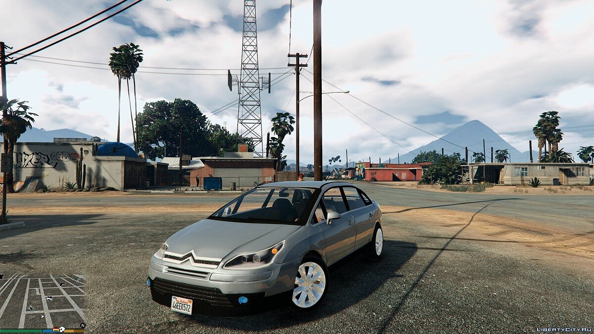 Citroën C4 Pallas Sedan для GTA 5