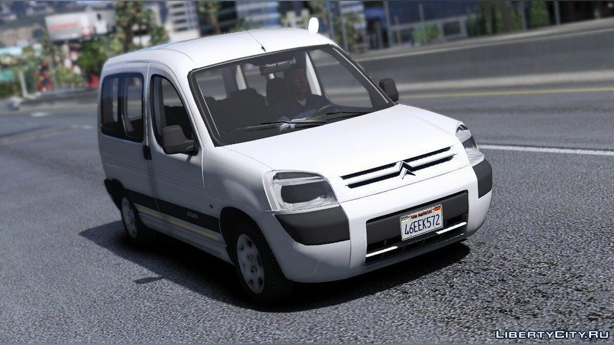 Машина Citroën Citroen Berlingo [REPLACE | ADD-ON | TEMPLATE] 1.0 для GTA 5