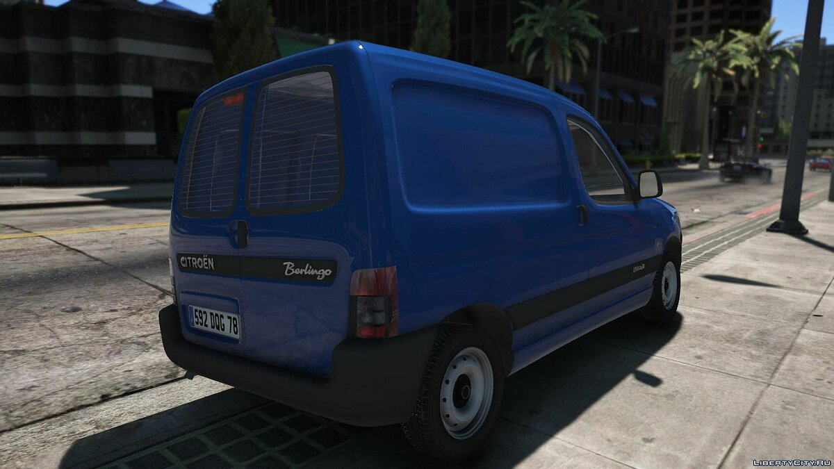 Citroen Berlingo [REPLACE | BETA] 1.0 для GTA 5 - скриншот #4