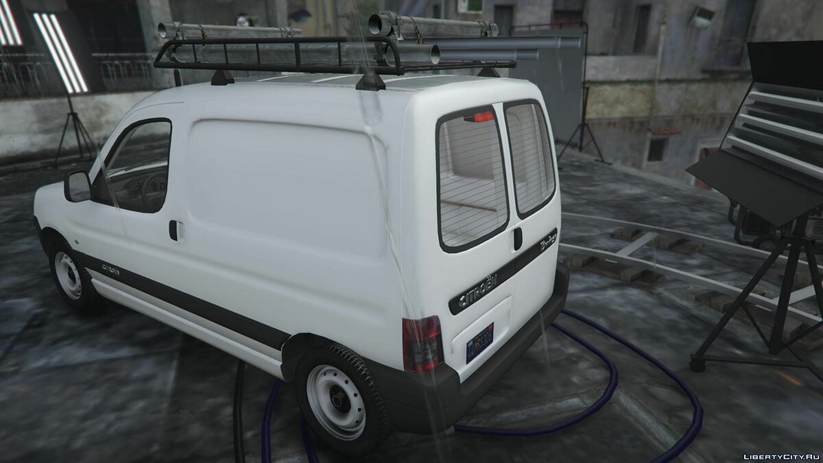 Citroen Berlingo [REPLACE | EXTRAS] 1.1 для GTA 5 - скриншот #2