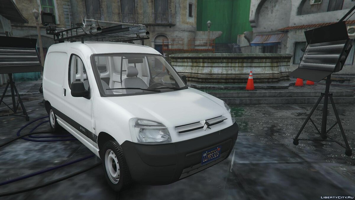 Машина Citroën Citroen Berlingo [REPLACE | EXTRAS] 1.1 для GTA 5