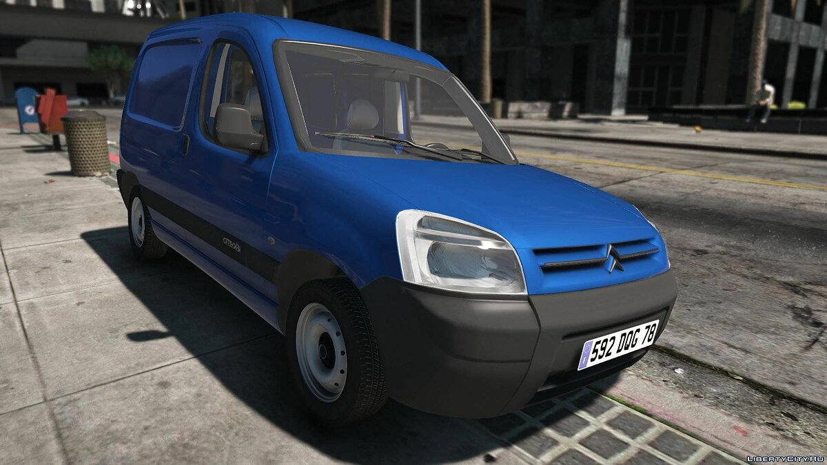 Citroen Berlingo [REPLACE | EXTRAS] 1.1 для GTA 5 - скриншот #3