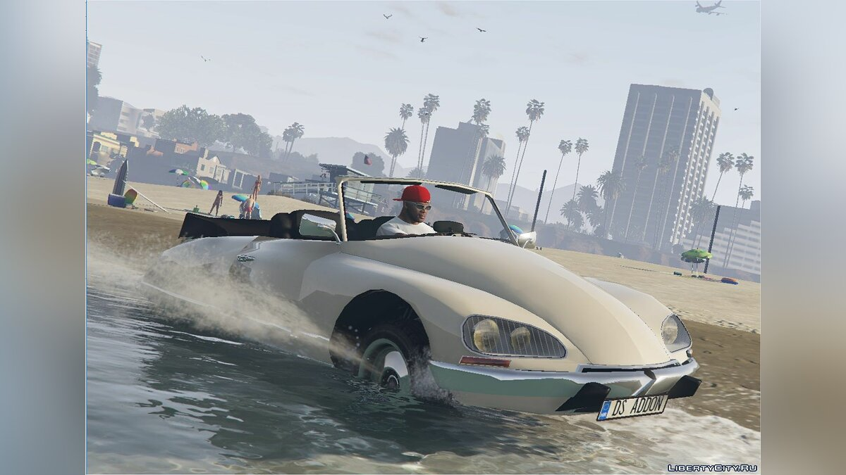 Машина Citroën Citroen DS21 [Add-On] [Replace] 1.0 для GTA 5