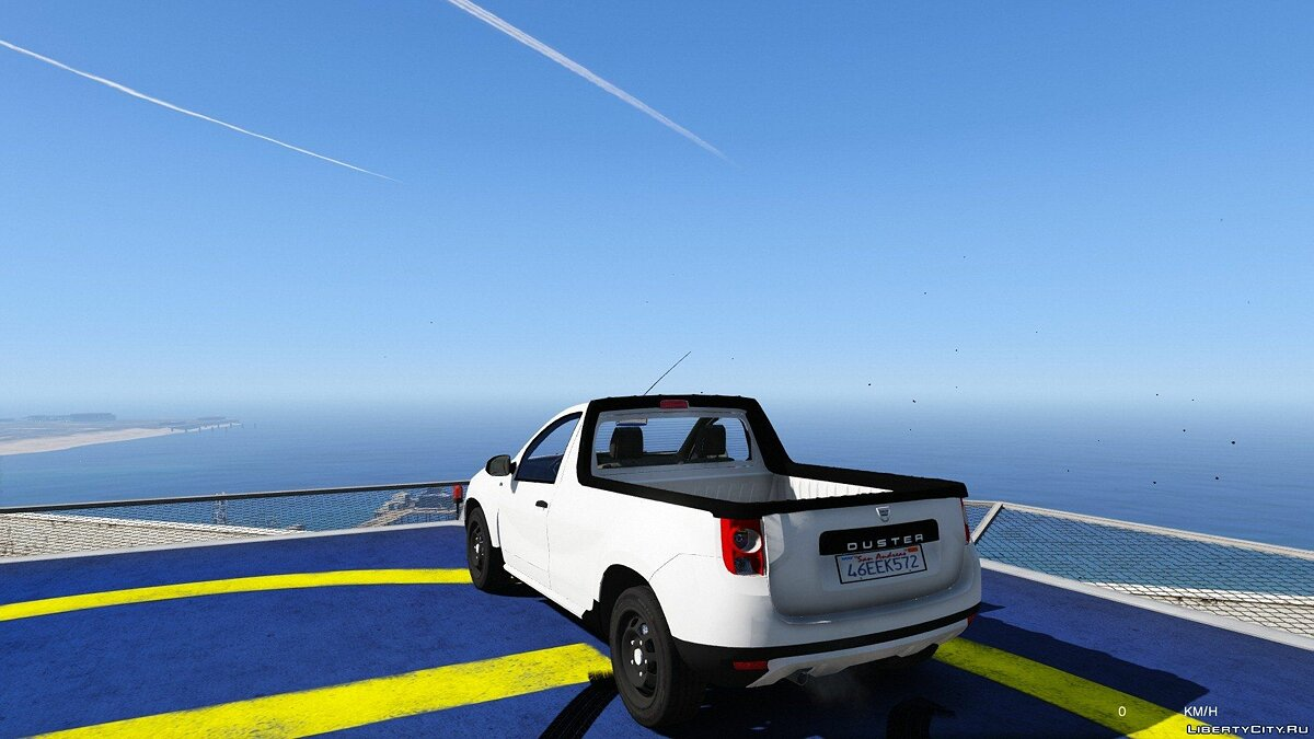Машина Dacia Dacia Duster Pick-Up для GTA 5
