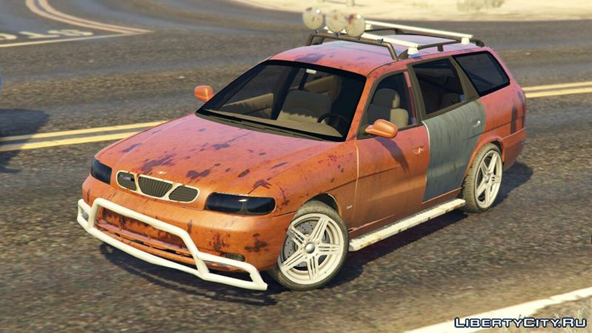 Машина Daewoo 1999 Daewoo Nubira I Wagon CDX US [Rusty Version] для GTA 5