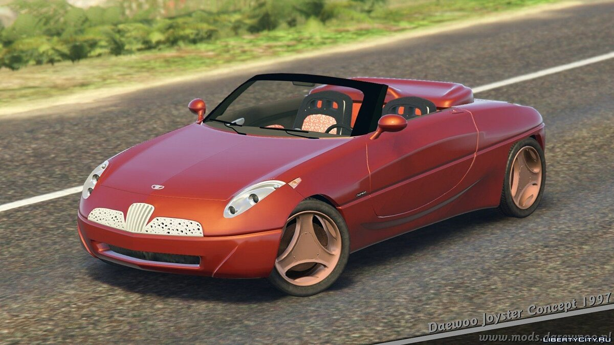 Машина Daewoo 1997 Daewoo Joyster Concept [Add-On + Tuning or Replace] v1.5.1 для GTA 5