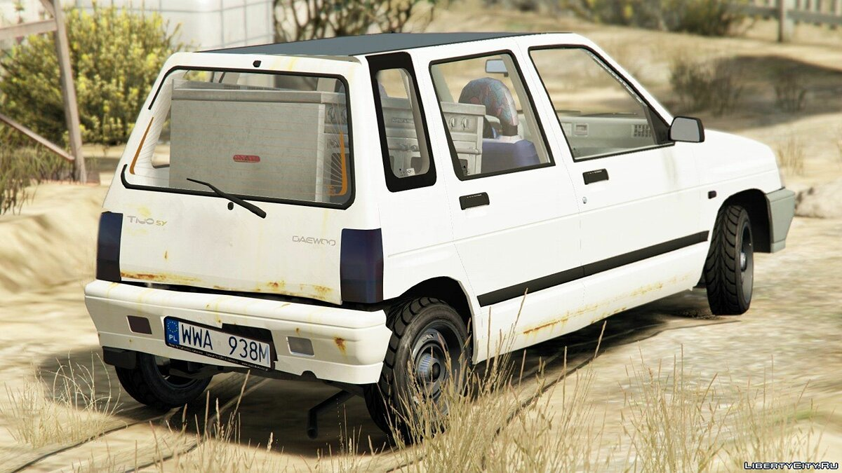 1998 Daewoo-FSO Tico SX [Add-On + Tuning] для GTA 5 - скриншот #4