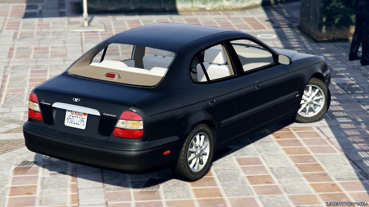 2001 Daewoo Leganza US [Add-On + Tuning or Replace] v1.3.1 для GTA 5 - скриншот #2