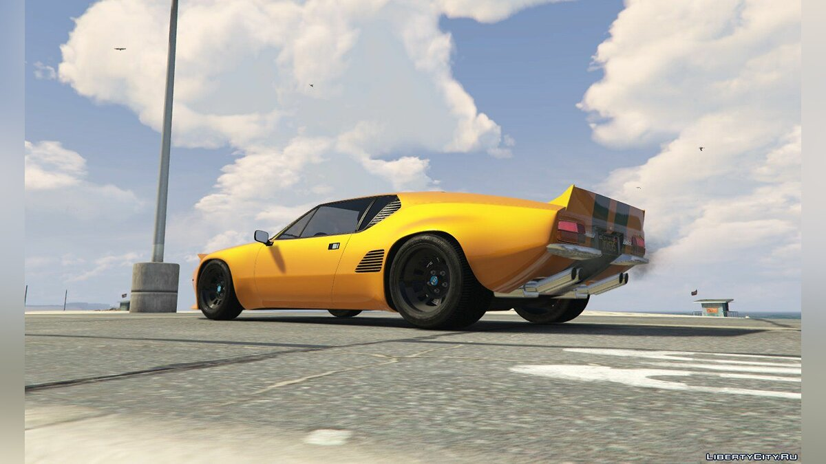 ��ашина De Tomaso De Tomaso Pantera GTS [Add-On | Tuning] 1.1 для GTA 5