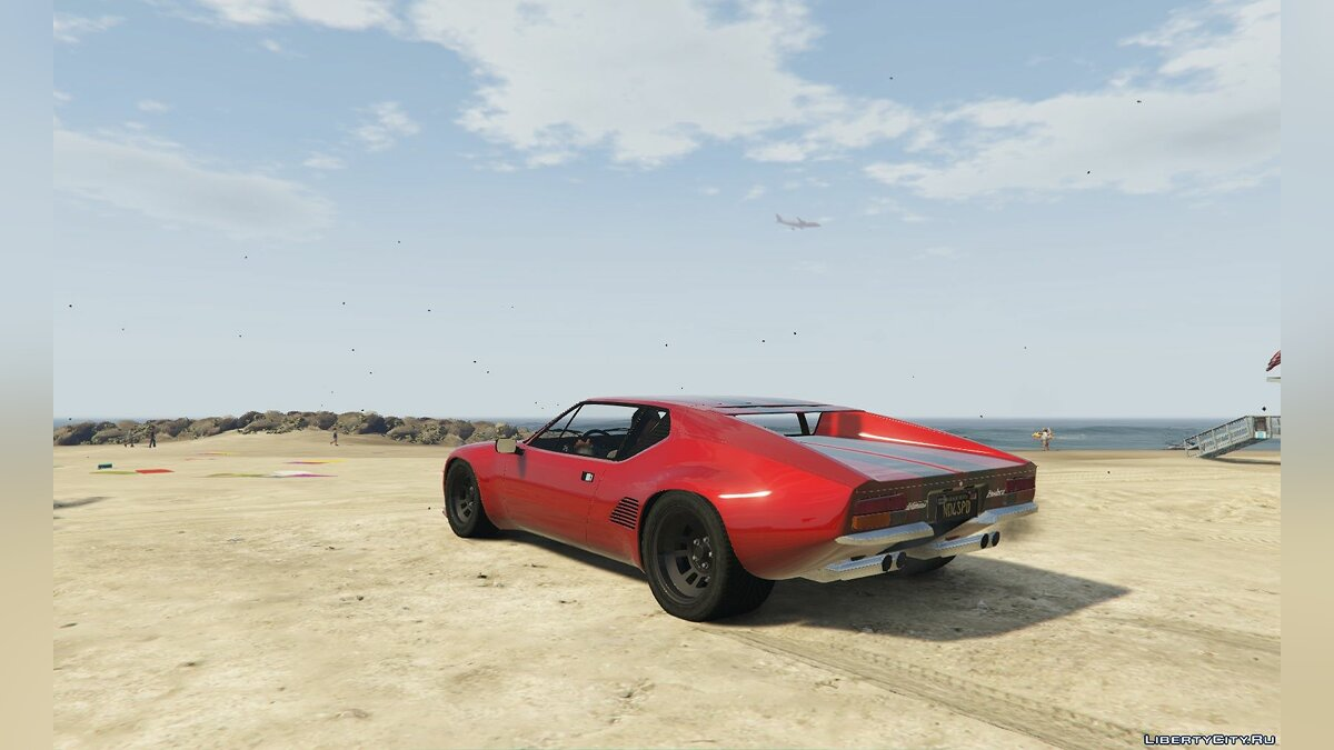 ��ашина De Tomaso De Tomaso Pantera GTS [Add-On] 1.0 для GTA 5