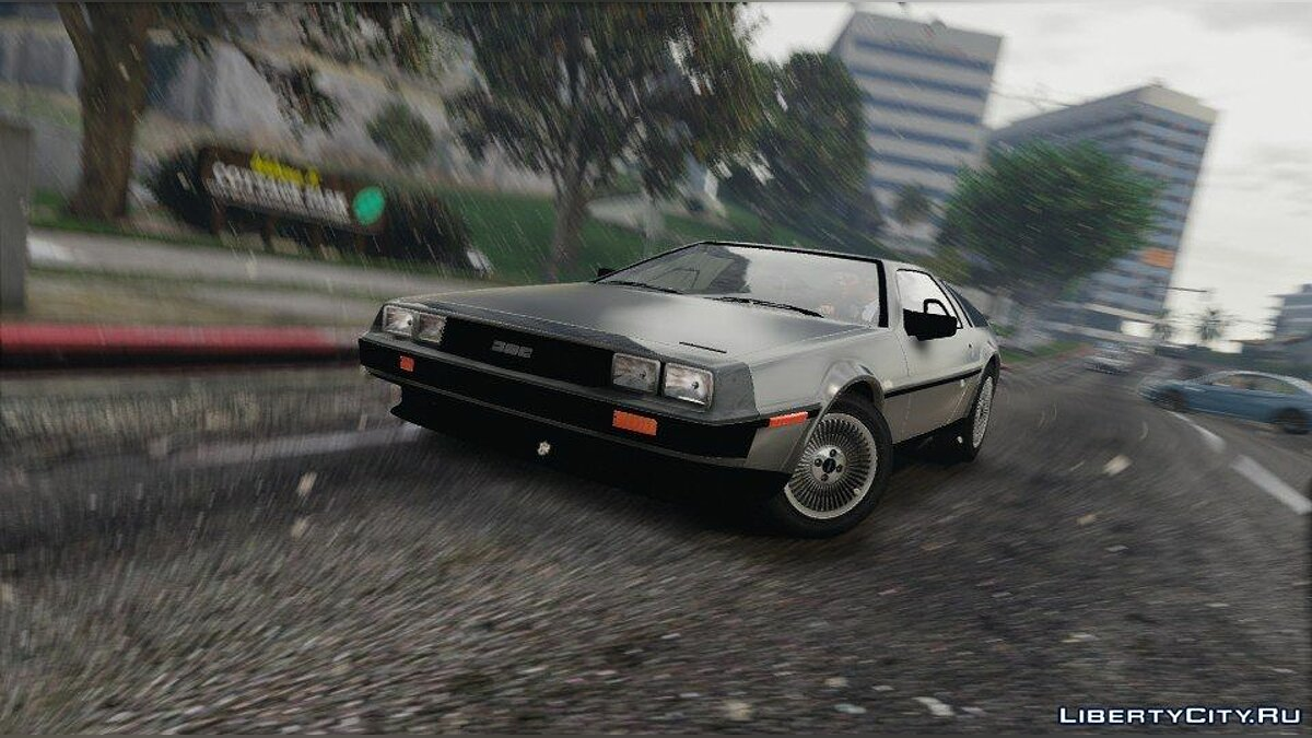 Машина Delorean DeLorean DMC12 1982 [Autovista / Add-On] для GTA 5