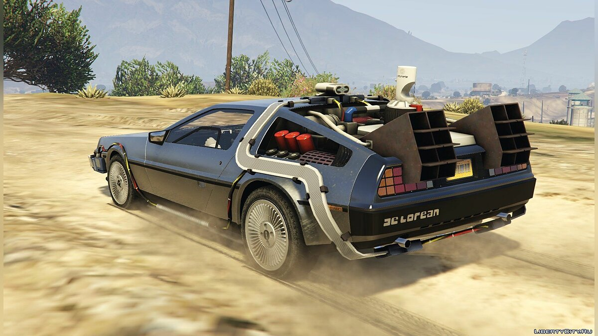 Delorean DMC12 / BTTF2 / Flying [Add-On] 1.01 для GTA 5 - скриншот #7
