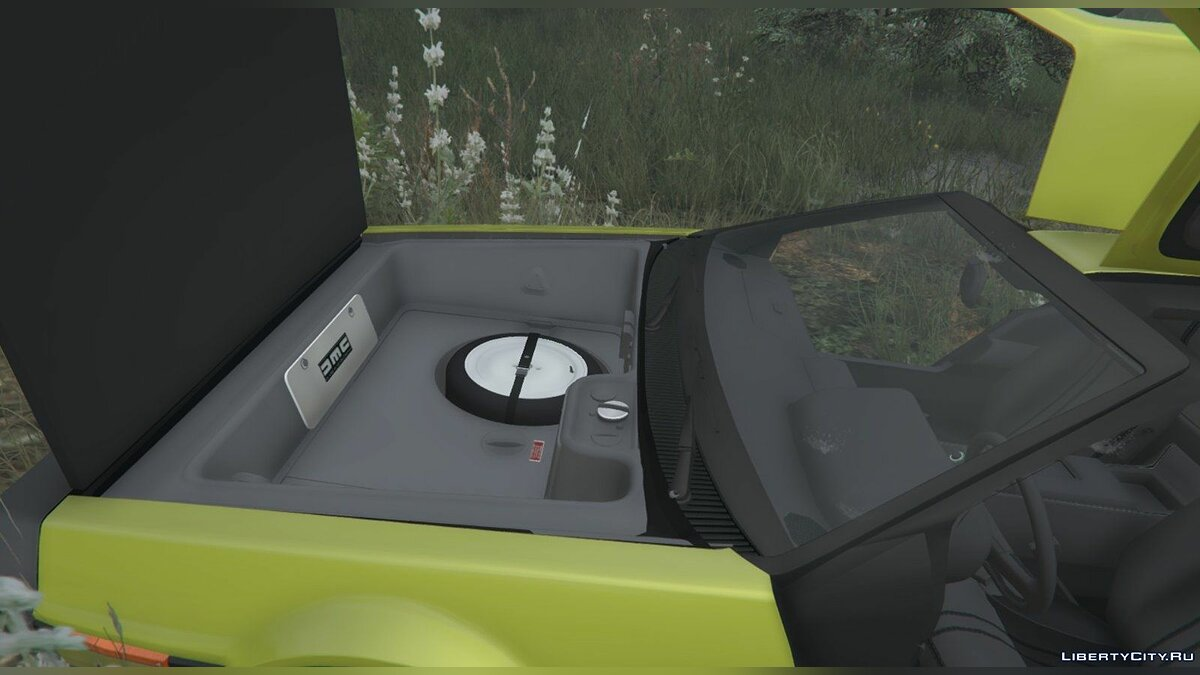 Машина Delorean DMC-12 Delorean v1.1 для GTA 5