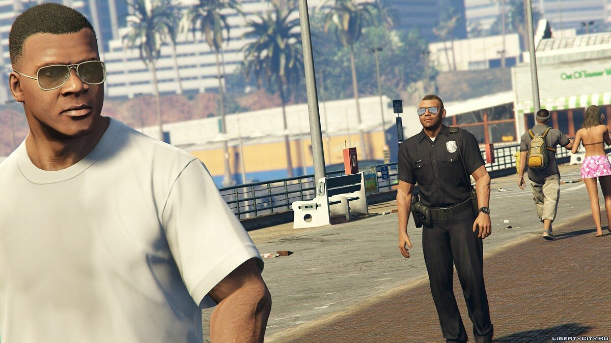 ��айл Cops: Back on the Beat 2.0 для GTA 5