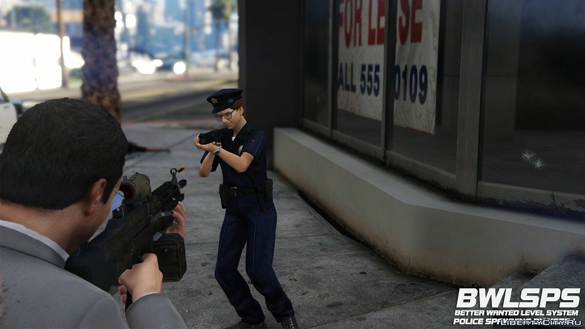 Файл Better Wanted Level System Police Spawning 2.2.2 для GTA 5