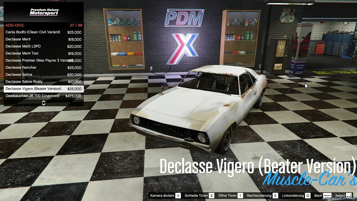 Файл Car Dealership Support for IVPack v1.0.125 для GTA 5