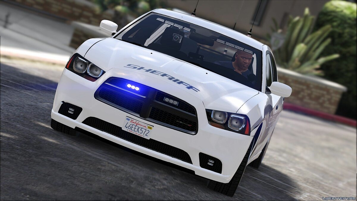 Unmarked 2013 Dodge Charger 2.0 для GTA 5 - скриншот #2