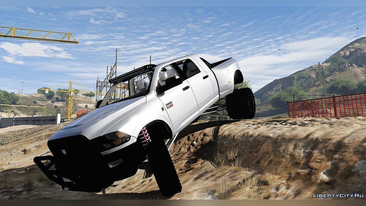 Dodge Ram 3500 Lifted 0.5 [BETA] для GTA 5