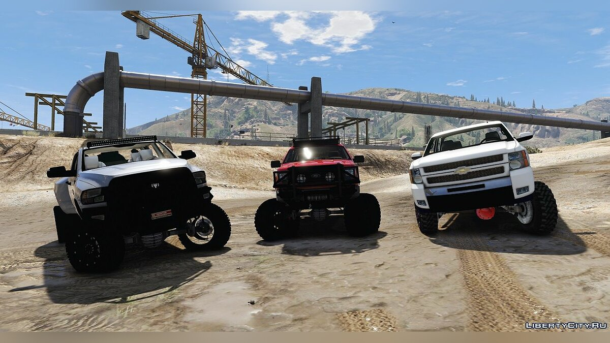 Dodge Ram 3500 Lifted 0.5 [BETA] для GTA 5 - скриншот #3