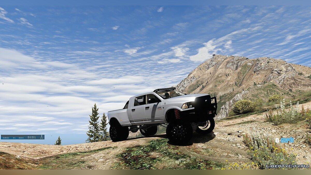 Dodge Ram 3500 Lifted 0.5 [BETA] для GTA 5 - скриншот #4
