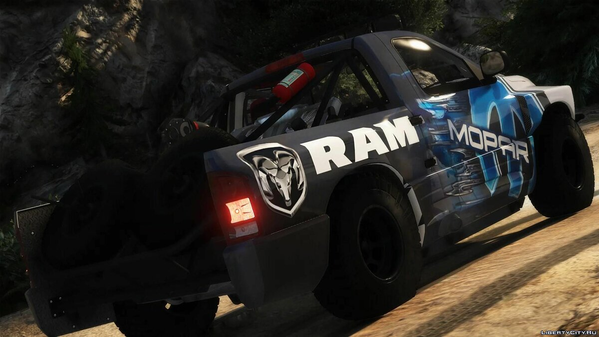 Машина Dodge 2008 Dodge Ram SRT-10 Runner HQ v1.0 для GTA 5