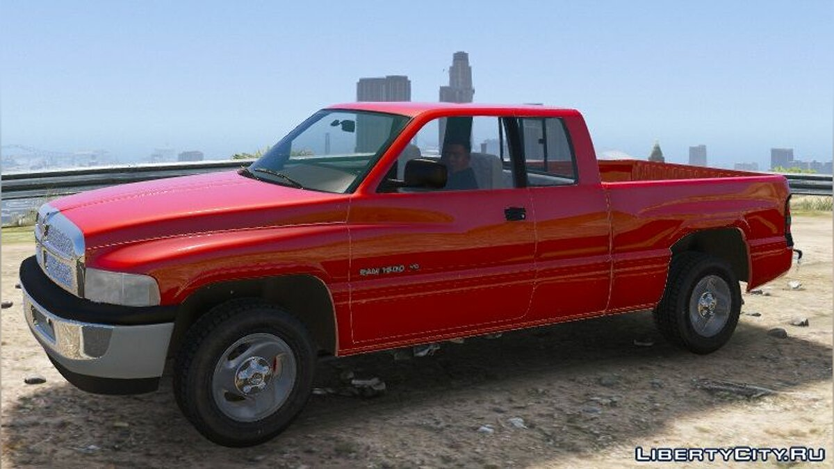 Машина Dodge 2001 Dodge Ram 1500 Club Cab [Replace] 1.1 [BETA] для GTA 5