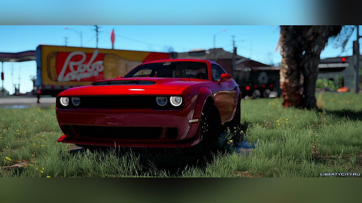 2018 Dodge Challenger Demon Fate of The Furious Version BETA 1.0 для GTA 5