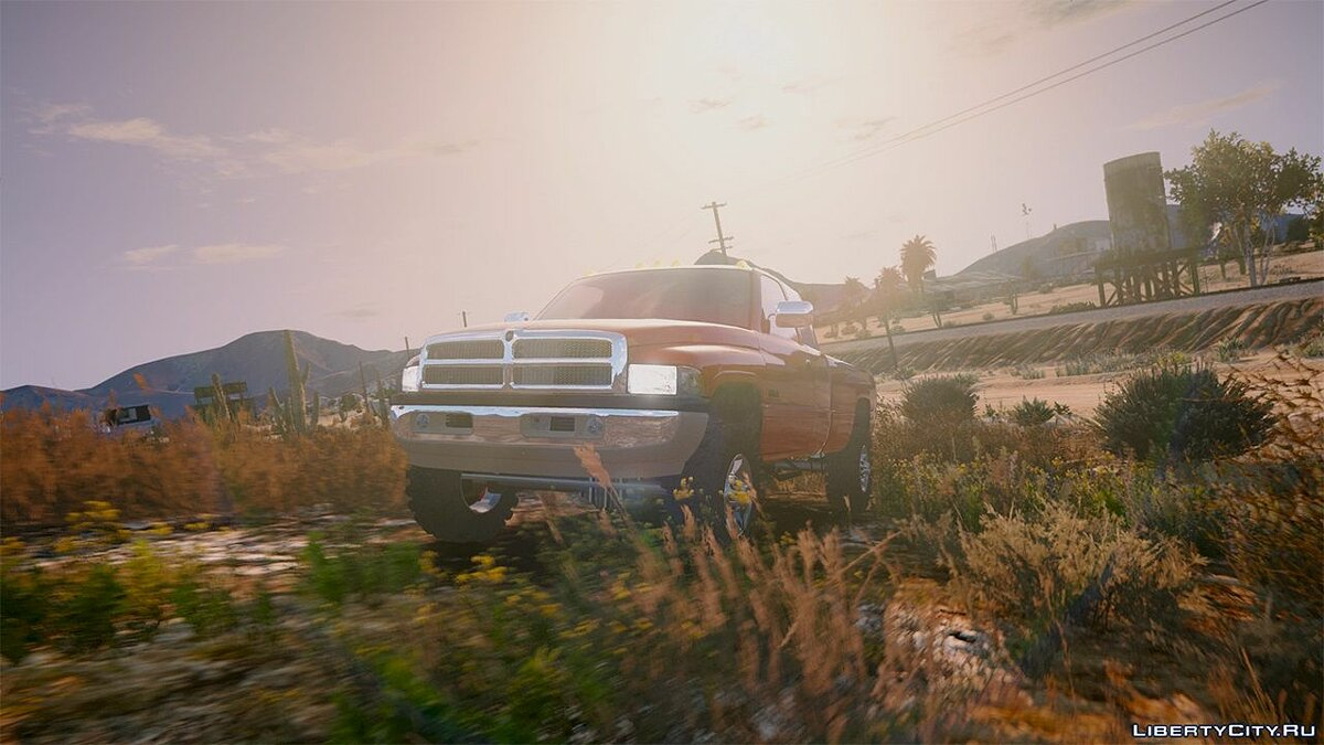 2nd Gen Dodge Ram 3500 Lifted 1.0 для GTA 5