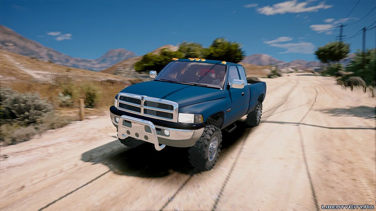 2nd Gen Dodge Ram 3500 Lifted 1.0 для GTA 5 - скриншот #4