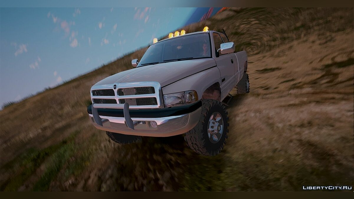 2nd Gen Dodge Ram 3500 Lifted 1.0 для GTA 5 - скриншот #6