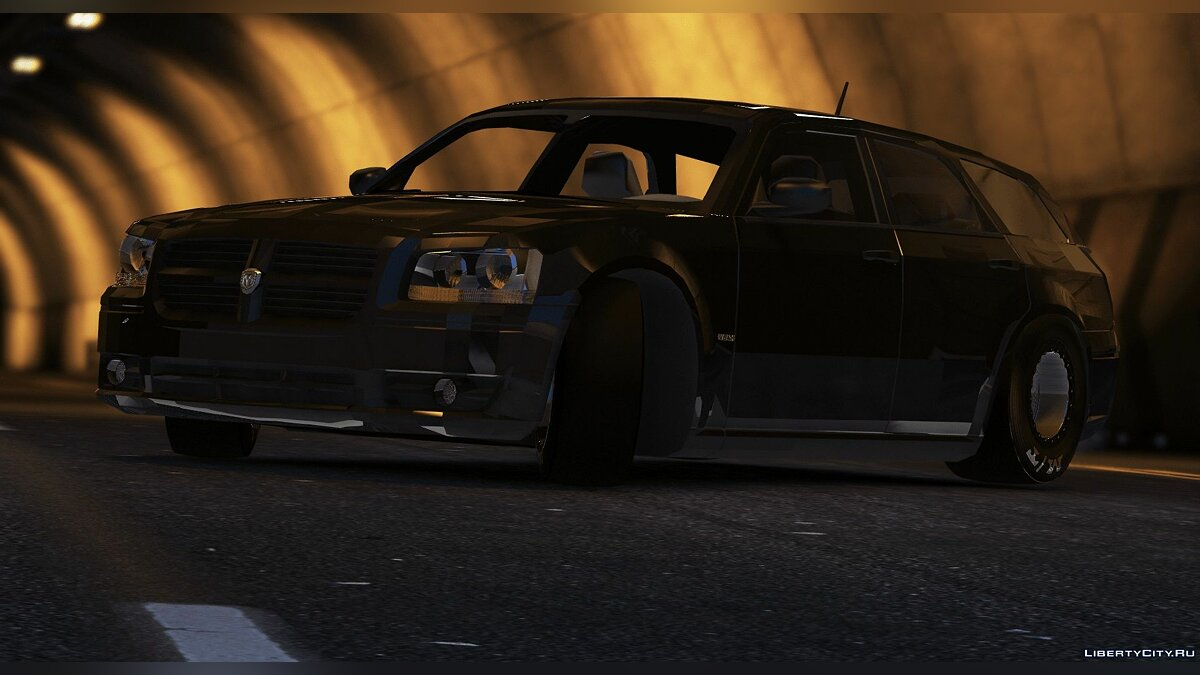 Машина Dodge Dodge Magnum Drag [FiveM / Replace] 1.0 для GTA 5