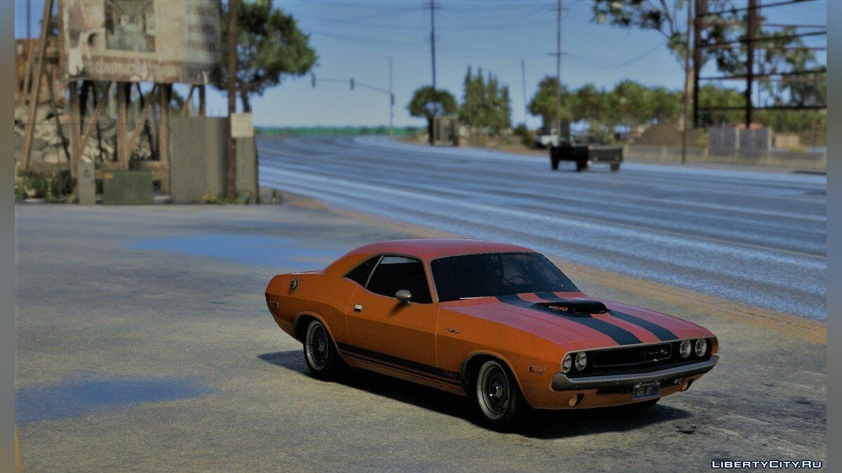 1970 Dodge Challenger RT 440 Six Pack [Add-On] v1.0 для GTA 5