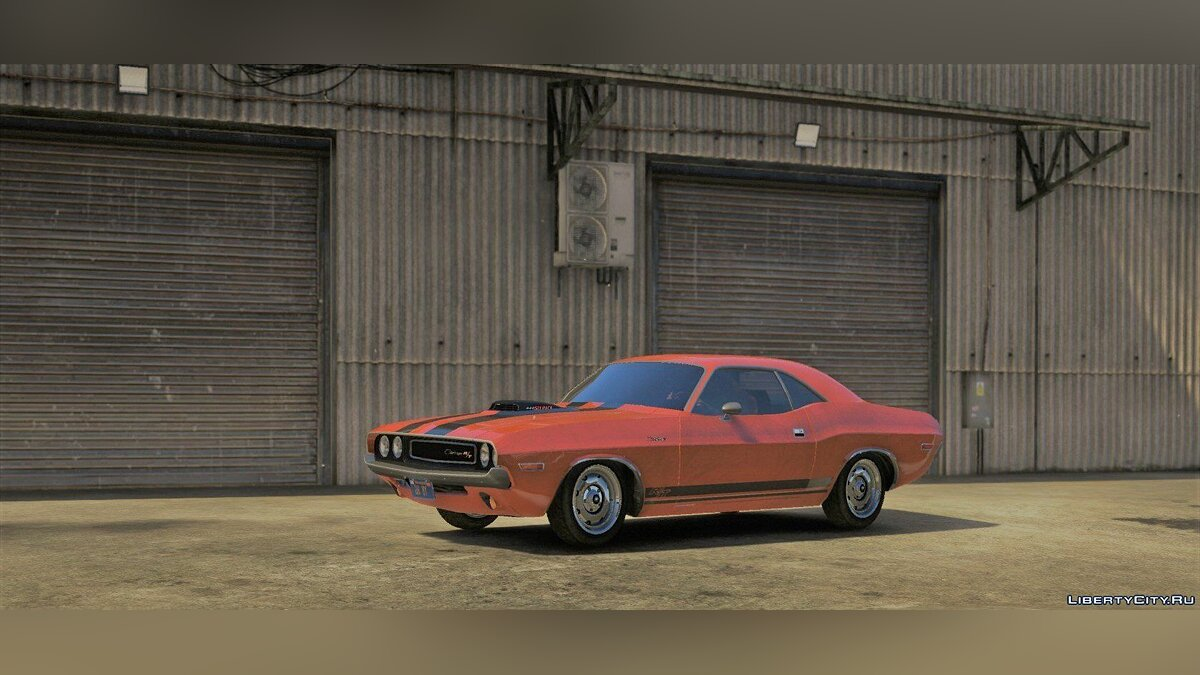 1970 Dodge Challenger RT 440 Six Pack [Add-On] v1.0 для GTA 5 - скриншот #2