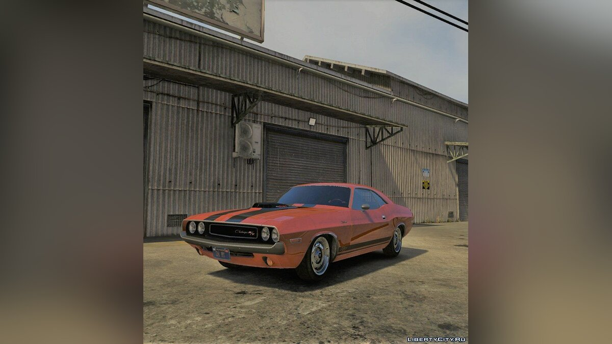 1970 Dodge Challenger RT 440 Six Pack [Add-On] v1.0 для GTA 5 - скриншот #3