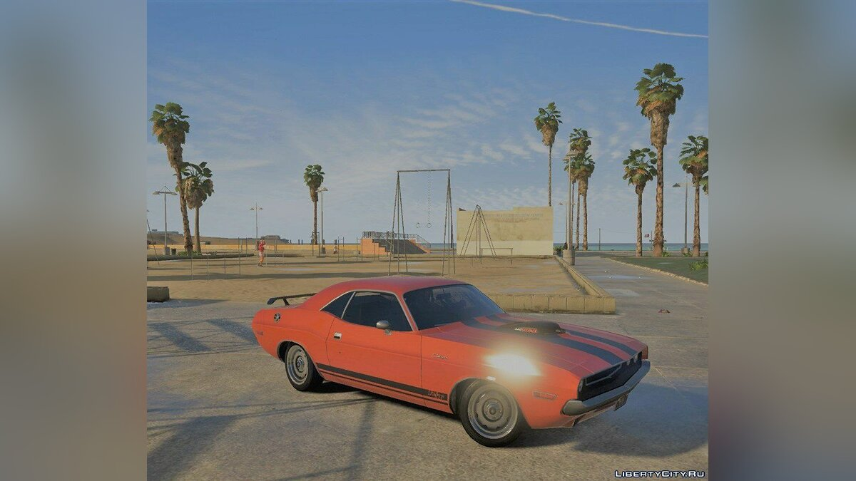 1970 Dodge Challenger RT 440 Six Pack [Add-On] v1.0 для GTA 5 - скриншот #5