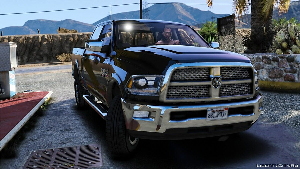 Машина Dodge 2015 Dodge RAM 2500 [Add-On | Tuning | Template] 1.0 для GTA 5