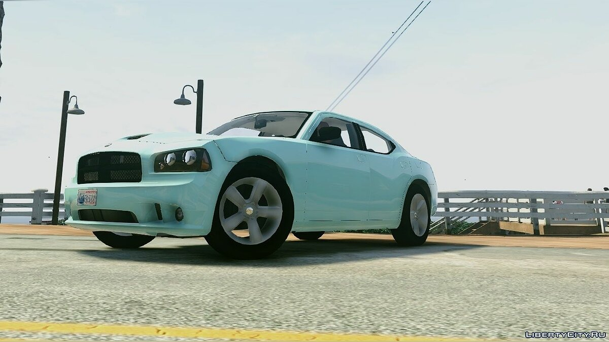 2006-'10 SRT8 Dodge Charger [Unlocked | Template] 1.0 для GTA 5