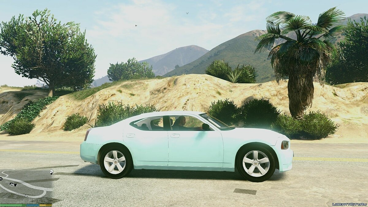 2006-'10 SRT8 Dodge Charger [Unlocked | Template] 1.0 для GTA 5 - скриншот #3