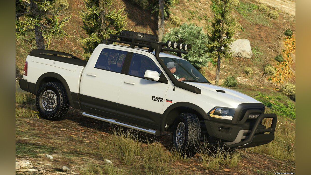 2016 Dodge Ram Rebel [Add-On / Replace | Tuning] 1.4 для GTA 5 - скриншот #2