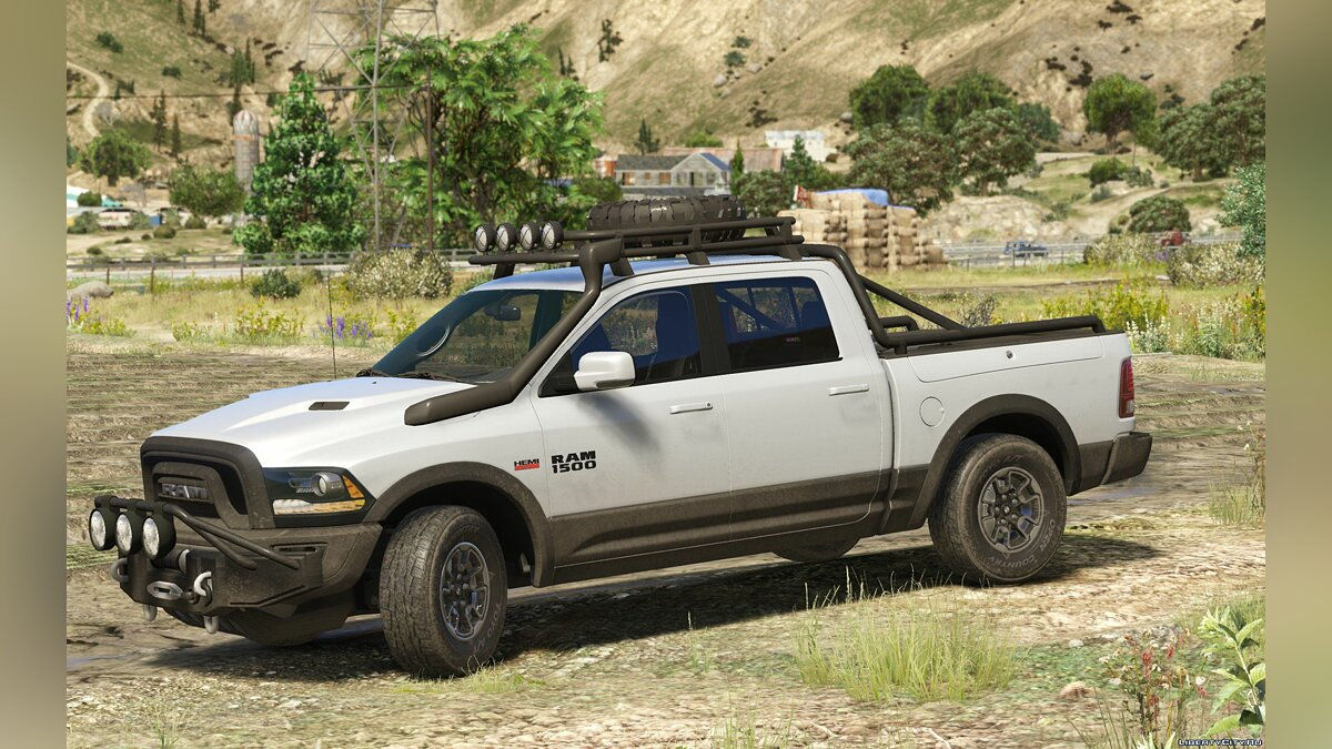 2016 Dodge Ram Rebel [Add-On / Replace | Tuning] 1.4 для GTA 5 - скриншот #3