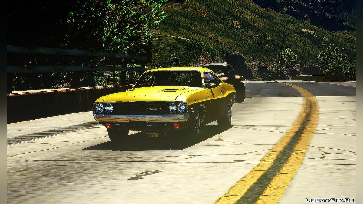 Dodge Challenger 70 [Replace] 1.0 для GTA 5 - скриншот #2